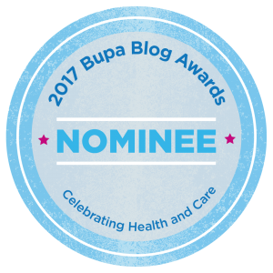 2017 Bupa Blog Awards